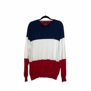 Tommy Hilfiger Men's Colorblock Sweater Sz XXL